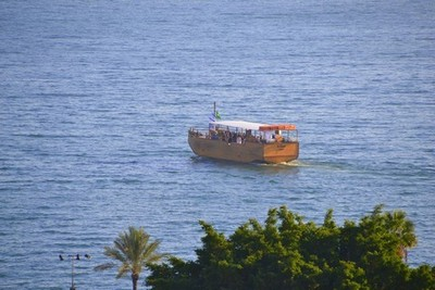 traversée de la mer de Galilée