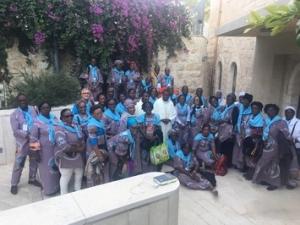 Groupe Paroisse st Antoine de Padoue Calavi Benin